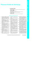 Plasmas froids de décharge - Applications et diagnostic : supplément