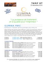 Tarif ILUMINA HWC - Torpedo Graphic