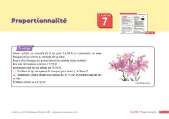 Chapitre 7 - exercice 62 page 119 - Phare 6e