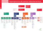 Organigramme des services départementaux