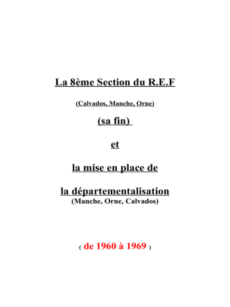 1960 - Radio Club de Caen