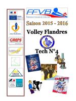 VFT N°4 2015-2016 - Ligue des Flandres de Volley-Ball
