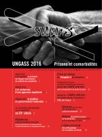 Swaps 80 - 81 : UNGASS 2016 & Prisons et comorbidités