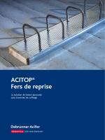 ACITOP® – Fer de reprise documentation