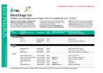 Liste variétale maraîchage bio FiBL