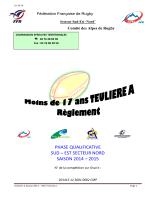 Règlement TEULIERE A 2014-2015