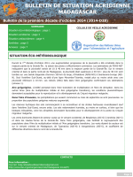Madagascar - Locust situation bulletin D28
