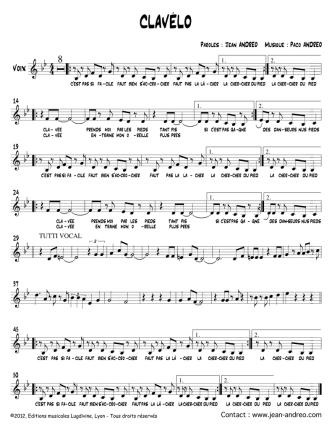 CLAVÉLO - Editions Musicales Lugdivine