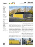 """VILLA TACCHINI"" - de Planta et Portier architectes SA"