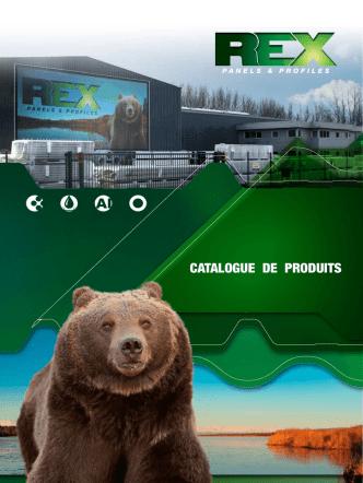 CATALOGUE DE PRODUITS - Rex Panels and Profiles
