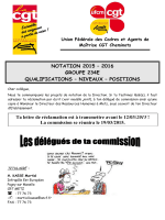 Notations 2015-2016 Groupe 234 E