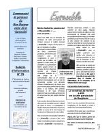 bulletin 29 - Communauté de paroisses du Bon Pasteur, entre Ill et