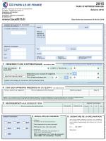 Formulaire CCIR 2015