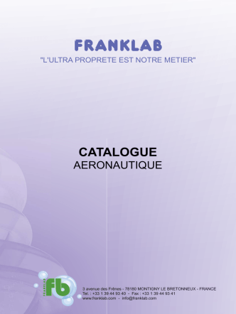 catalogue - Franklab