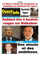 Lundi 10 Novembre 2014 - Ouest-info