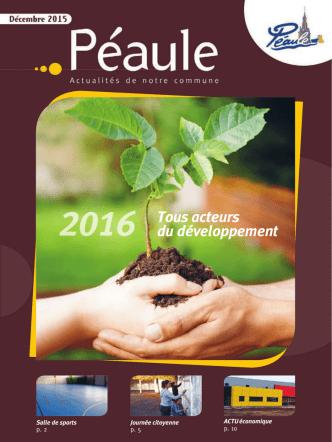 Bulletin municipal de décembre 2015