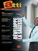 Magazine ATTI n°12 - eglise vases d`honneur