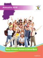 Annuaire du Réseau Information Jeunesse 77 en PDF