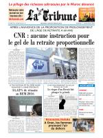 CNR : aucune instruction pour le gel de la retraite
