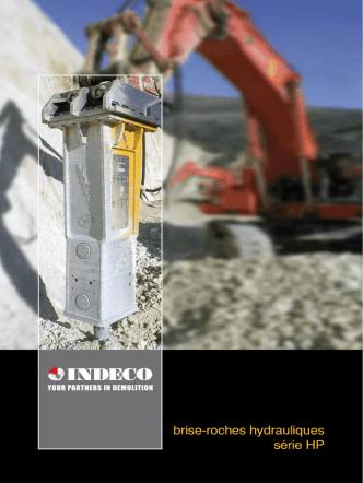 brise-roches hydrauliques série HP