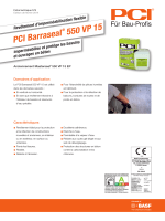 PCI Barraseal ® 550 VP 15