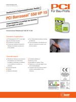 PCI Barraseal ® 550 VP 15