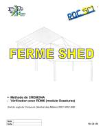 Méthode de CREMONA • Vérification avec RDM6 (module Ossatures)