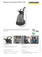 Accessoires pour Nettoyeur haute pression HDS 5/15 UX