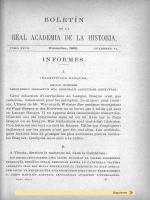 INFORMES . - Biblioteca Virtual Miguel de Cervantes