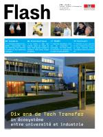 Dix ans de Tech Transfer - Communication et médias EPFL