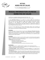 liste des PIJ de la région Nord-Pas de Calais. - CRIJ Nord