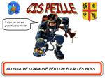 GLOSSAIRE COMMUNE PEILLON POUR LES