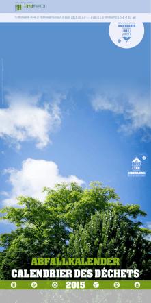 Calendrier déchets 2015