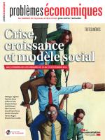 Crise, croissance et modèle social
