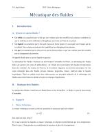 Cours-Mécanique des fluides - Nathalie Lidgi