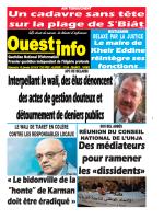 Dimanche 10 Janvier 2016 - Ouest-Info