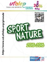 Ufolep 33 - Bazas Sports Nature