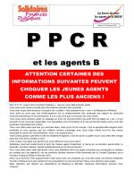 23 fev - PPCR Carrière B - Solidaires Finances publiques