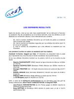 fil info athletisme 33 - Comité de Gironde d`Athlétisme