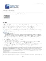 Carte Visa Platinum Facelia - Banque Populaire des Alpes