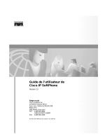Guide de l`utilisateur de Cisco IP SoftPhone