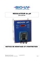 Notice montage et entretien Regul pH_BIO-UV PH