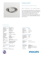 Zadora LED BBG120 encastré orientable aluminium