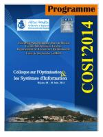 Programme COSI 2014-Final