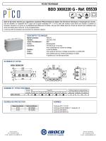 BDD 300X220 G - Réf. 05539 BDD 300X220 G