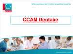 CCAM Dentaire