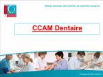CCAM Dentaire