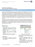 Call Routing Manager - Alcatel-Lucent Business Portal Website