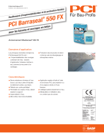 PCI Barraseal ® 550 FX