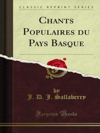 Chants Populaires du Pays Basque